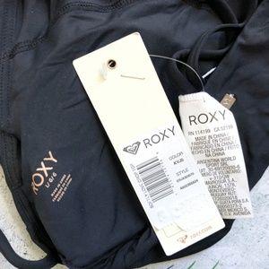 Roxy Swim - Roxy | Softly Love High Neck Crop Bikini Top L